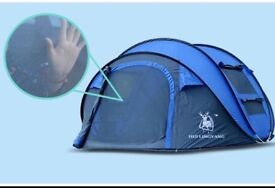 Large tent/ pop up/ throw up/ choose colour