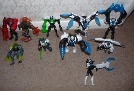 *Reduced* Job Lot, 10 x MAX STEEL Action Figures / Characters, inc. Power Orb and Drill Strike