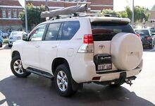 2012 Toyota Landcruiser Prado KDJ150R GXL White 5 Speed Sports Automatic Wagon Northbridge Perth City Preview