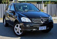2007 Mercedes-Benz ML320 CDI W164 Luxury Black 7 Speed Sports Automatic Wagon Victoria Park Victoria Park Area Preview