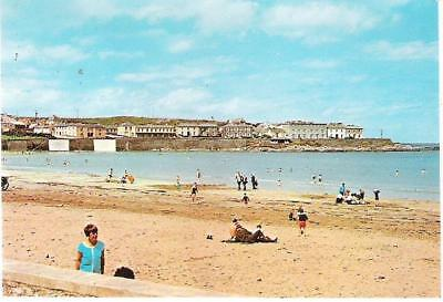 Kilkee, Co Clare, Ireland - beach - NPO postcard c.1960s