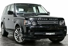 2012 Land Rover Range Rover Sport L320 12MY SDV6 CommandShift Luxury Black 6 Speed Sports Automatic Rozelle Leichhardt Area Preview