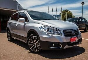 2014 Suzuki S-Cross JY GLX 4WD Silver 7 Speed Constant Variable Hatchback Alfred Cove Melville Area Preview