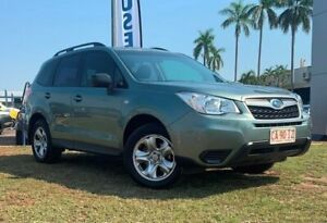2013 Subaru Forester S4 MY13 2.5i Lineartronic AWD Green 6 Speed Constant Variable Wagon Berrimah Darwin City Preview
