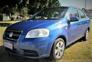 2006 Holden Barina TK MY07 Horizon Blue 5 Speed Manual Sedan Mount Lawley Stirling Area Preview