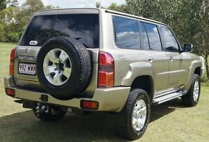 2012 Nissan Patrol Y61 GU 8 ST Gold 5 Speed Manual Wagon Bundaberg West Bundaberg City Preview