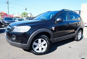 2008 Holden Captiva CG MY09 CX (4x4) Black 5 Speed Automatic Wagon Underwood Logan Area Preview