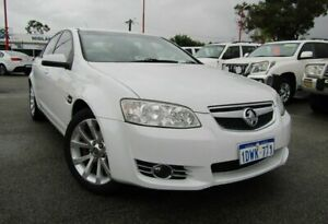 2012 Holden Commodore VE II MY12 Equipe White 6 Speed Sports Automatic Sedan Bellevue Swan Area Preview