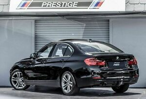 2012 BMW 328I F30 Sport Line Black 8 Speed Automatic Sedan Albion Brisbane North East Preview