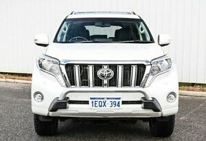 2014 Toyota Landcruiser Prado KDJ150R MY14 Kakadu White 5 Speed Sports Automatic Wagon Gosnells Gosnells Area Preview