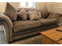 loch leven dfs sofa 4 seater and med seater