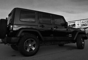 WINTER PROOF - 2010 Jeep Wrangler Unlimited Sport - Custom
