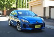 2013 Mazda 3 BL10F2 MY13 Neo Activematic Blue 5 Speed Sports Automatic Hatchback Medindie Walkerville Area Preview