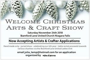 Artists And Crafter Applications Welcome for Christmas Show