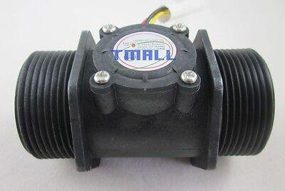 "G1-1/2"" 1.5"" Water Flow Hall Sensor Switch Meter Flowmeter Control 5-200L/min"