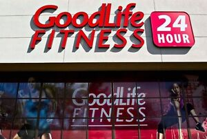 2 Goodlife fitness memberships good until March 2017