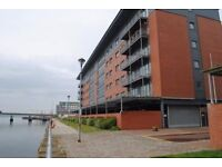 medium size room in 2 bed city quay apartment - cosy well presented
