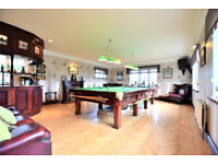 Fully Refurbished 12ft Snooker Table with complete accessories
