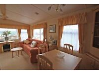 Double glazed central heated static caravan holiday home for sale Hornsea Leisure Park, Yorkshire.