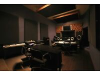 Fully Soundproofed Recording/Rehearsal Studio available to Rent in East London.