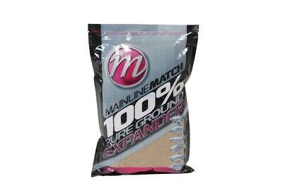 Mainline Match 100% Pure Ground Expander 1kg MM2904 Grundfutter aus Pellets