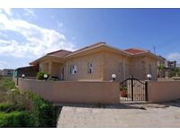Beautiful 3/4 Bedroom Bungalow in Southern Cyprus For Sale