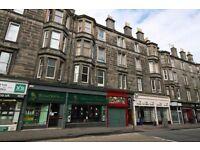 One bedroom fully refurbished ground floor flat to rent Easter Road Edinburgh