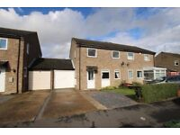 Immaculate 3 bed semi detached home in quiet location close to town centre