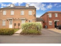 Three bedroom semi detached house with two bathrooms.