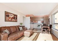 Large Double Bedroom in Modern Apt w/balcony overlooking Thames