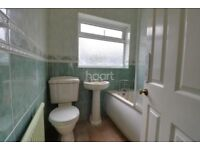 ** FREE WC with close coupled cistern and matching sink with pedestal **