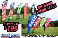 Outdoor Graphic Flags - Owen Sound and Area