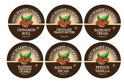 Flavor Lovers Coffee Number Sampler Pack, 48 Count, for Keurig K-cup Machines