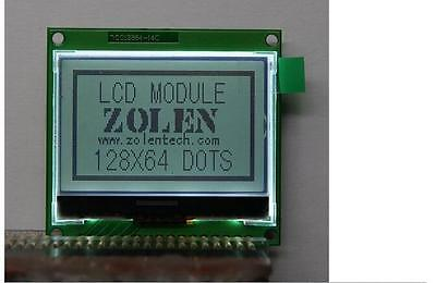 1pcs New 12864 128x64 Graphic Lcd Display Module St7565p Free Shipping