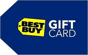 Trade $500 Best Buy gift card for Cabelas or other stores