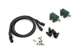 Dynatek Dyna Coils 5 ohm Dual Output DC8-1 Black DW-200 Wires Honda CB 500 550