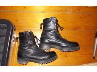 Black goretex boots