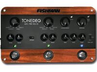 NOW £250! FISHMAN TONE DEQ PEDAL BNIB