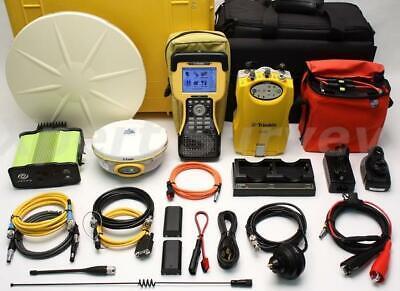 Trimble 5800 5700 Zephyr Gps Rtk Base Rover W Tsc2 450-470 Mhz Pdl 4535