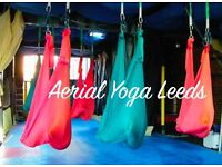 An Introduction to Aerial Yoga 4th September