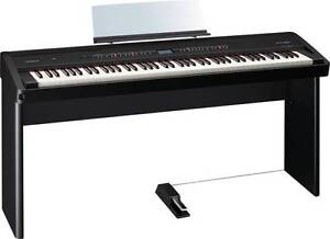 Roland Electronic Piano FP-80 Black + Stand + Damper Pedal