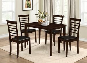 5 Pcs Sione Dining Table Set (Best price Pay on delivery)