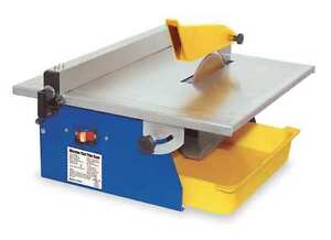 QEP, 60089, Prtbl Tile Saw,Wet Cut,Elc,7 In. Blade