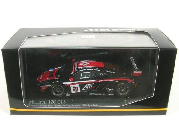 McLaren 12C GT3 Team Art Grand Prix No. 99 24h Spa 2014 (K.Estre K.Korjus A