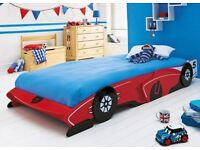 RACING CAR BED FRAME ONLY NO MATTRESS