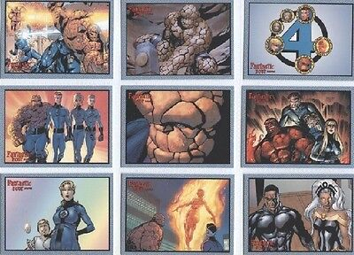 FANTASTIC FOUR ARCHIVES MARVEL 2008 Rittenhouse COMPLETE TRADING CARD SET (1-72)