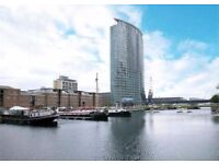 MODERN 2 BEDROOM FLAT WITH FANTASTIC VIEWS, DESIGNER FURNISHED IN NO1 WEST INDIA QUAY, CANARY WHARF
