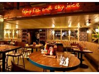 Turtle Bay Manchester Oxford Street - Full & Part time Waiter positions