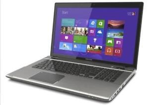 "Toshiba Satellite L70D - 17"" Big Screen Laptop with 8 GB Ram & 750 GB HDD, Windows 8.1 Pro"