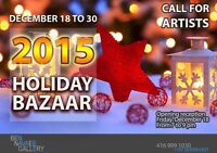 Holiday Bazaar Art Exhibit 2015